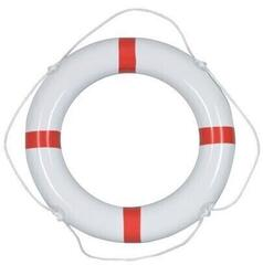 Talamex Lifebuoys PVC White/Red