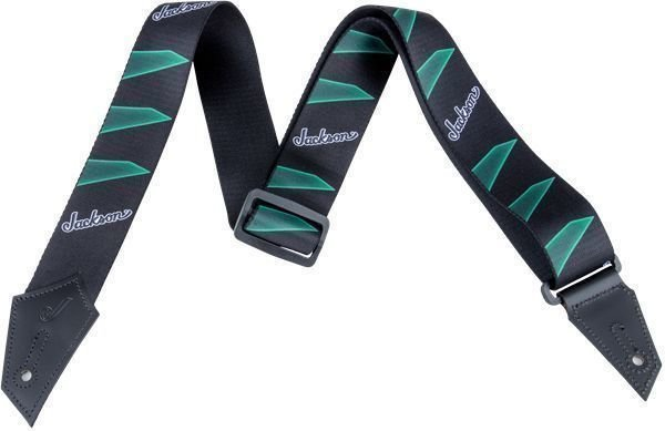 Jackson Strap Headstock Black/Green