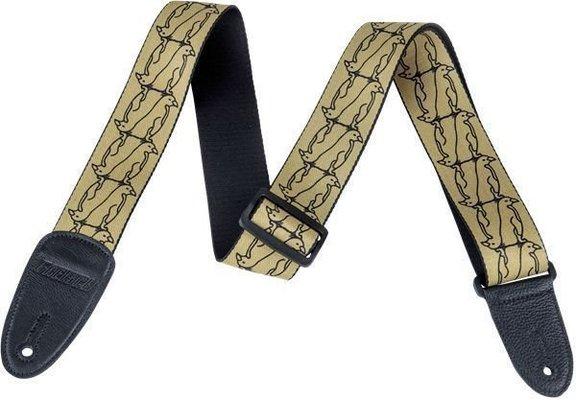 Gretsch Strap Double Penguin Gold/Black