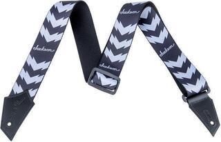 Jackson Strap Double V Black/White