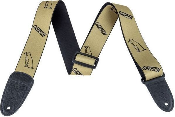 Gretsch Strap Penguin Gold/Black