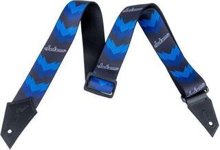 Jackson Strap Double V Black/Blue