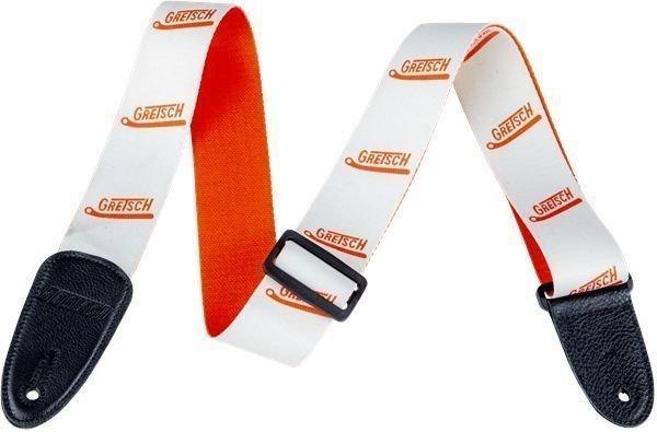Gretsch Strap Vibrato Arm White/Orange