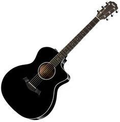 Taylor Guitars 214ce Deluxe Grand Auditorium Black