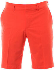 Nike Flat Front Woven Mens Shorts Max Orange 40