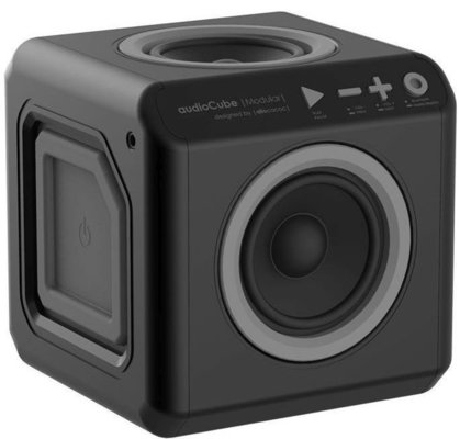 PowerCube AudioCube Portable Black