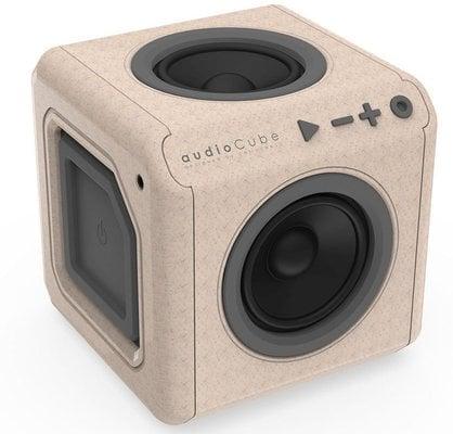 PowerCube AudioCube Portable Wood Edition