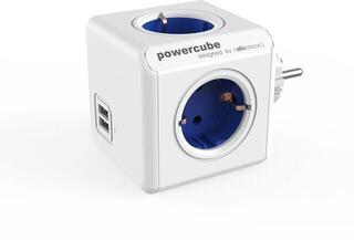 PowerCube Original USB Blue Schuko
