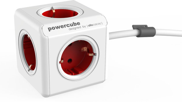 PowerCube Extended Red Schuko