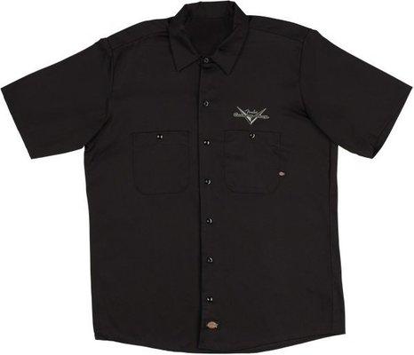 Fender Custom Shop Eagle Workshirt Black S