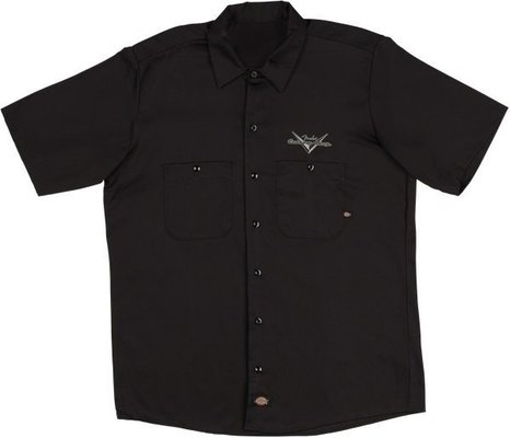 Fender Custom Shop Eagle Workshirt Black XXL