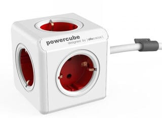 PowerCube Extended 3m Red Schuko