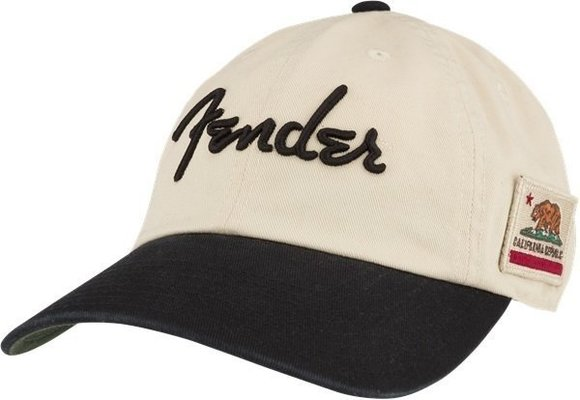 Fender United Slouch Hat Cream/Black/Green