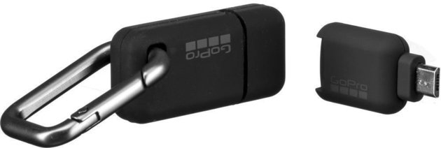 GoPro Micro SD Card Reader - Micro USB Connector