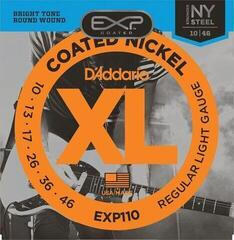 D'Addario EXP-110 Coated Regular Light
