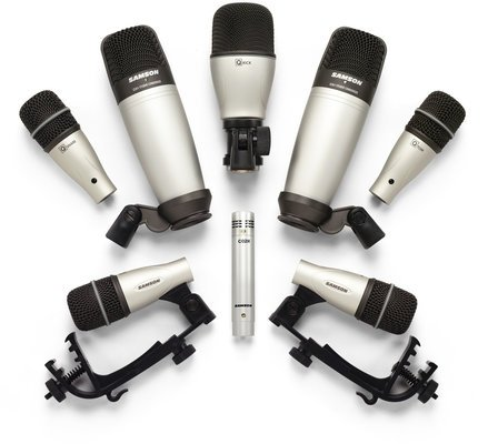 Samson 8Kit 8 Piece Drum Mic Set