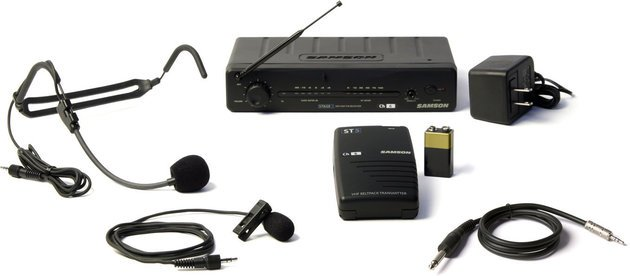 Samson Stage 5T Three In One VHF Wireless System
