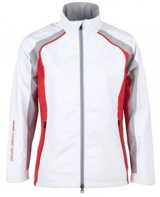 Galvin Green Amber Gore-Tex Womens Jacket White/Lipgloss Red/Silver XS