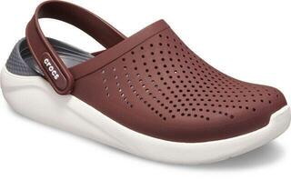 Crocs Lite Ride Clog Unisex Burgundy/White