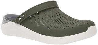 Crocs Lite Ride Clog Unisex Army Green/White