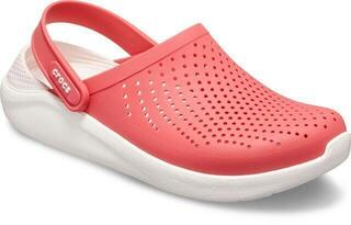 Crocs Lite Ride Clog Unisex Poppy/White