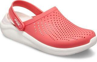 Crocs Lite Ride Clog Unisex Poppy/White