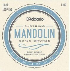 D'Addario Bronze Mandolin Strings 80/20 Light 10-34