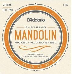 D'Addario Nickel Mandolin Strings Medium 11-39