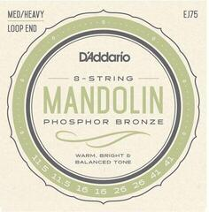 D'Addario Phosphor Bronze Mandolin Strings Medium/Heavy 11.5-41