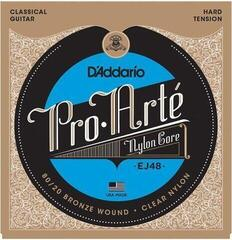 D'Addario EJ48 ProArte Laser Selected Nylon Trebles Hard