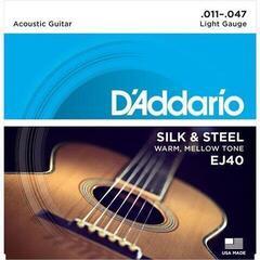 D'Addario EJ40 Folk Silk & Steel