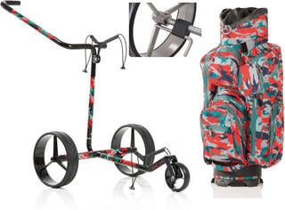 Jucad Carbon 3-Wheel Camouflage Deluxe SET