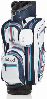 Jucad Aquastop Blue/White/Red Cart Bag