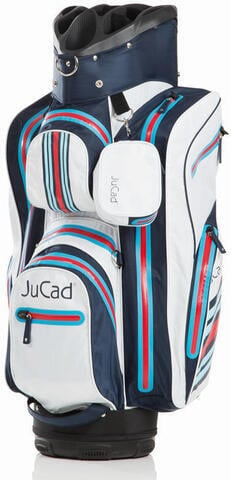 Jucad Aquastop Blue/White/Red Cart Bag