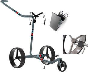 Jucad Carbon 3-Wheel Racing Grey Deluxe SET