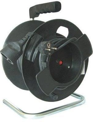 LEWITZ PB11 Extension Cord on Reel 25 m 1x Socket