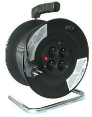 LEWITZ PB01 Extension Cord on Reel 25 m 4x Socket