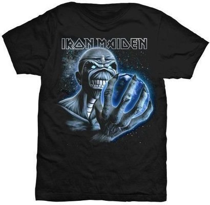 Iron Maiden Unisex Tee: A Different World L