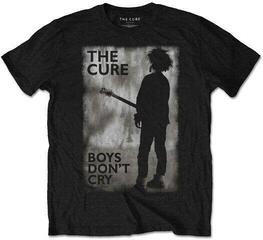 The Cure Unisex Tee: Boys Don't Cry Black & White L