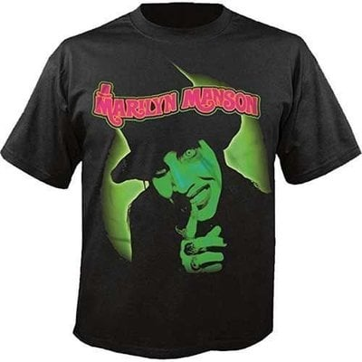Marilyn Manson Unisex Tee: Smells Like Children L