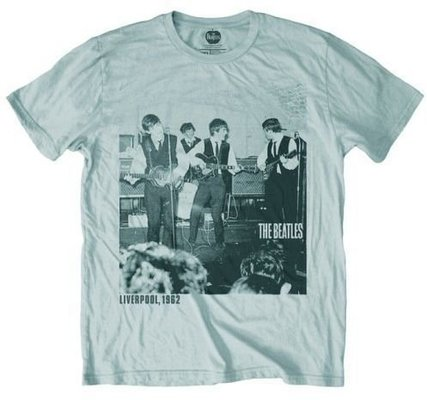 The Beatles Unisex Premium Tee: The Cavern 1962 L