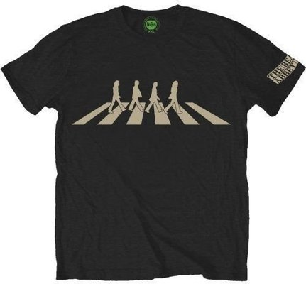 The Beatles Mens Abbey Road Silhouette Black S