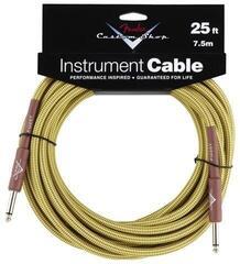 Fender Custom Shop Performance Cable 7,5 m Tweed