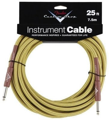 Fender Custom Shop Performance Cable 7,5 m Tweed