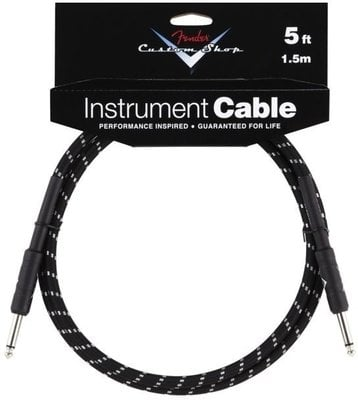Fender Custom Shop Performance Cable 1,5 m Black