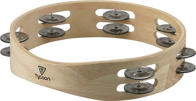 Tycoon Wooden Tambourine