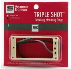 Seymour Duncan STS-2B-Triple Shot Bridge Switching Mounting Ring Arched Creme