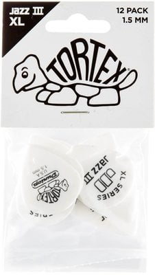 Dunlop Tortex Jazz III XL 1.5 12pcs