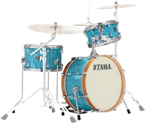 Tama CR30VS Superstar Classic Neo-Mod Turquoise Satin Haze