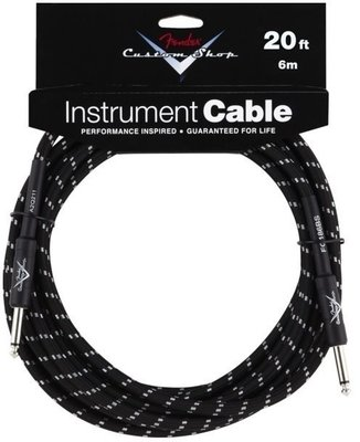Fender Custom Shop Performance Cable 6m Black